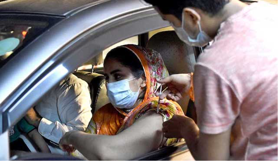 Pakistan's vaccination drive is the best across the globe