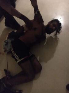 An image of Zahir Jaffer during his arrest