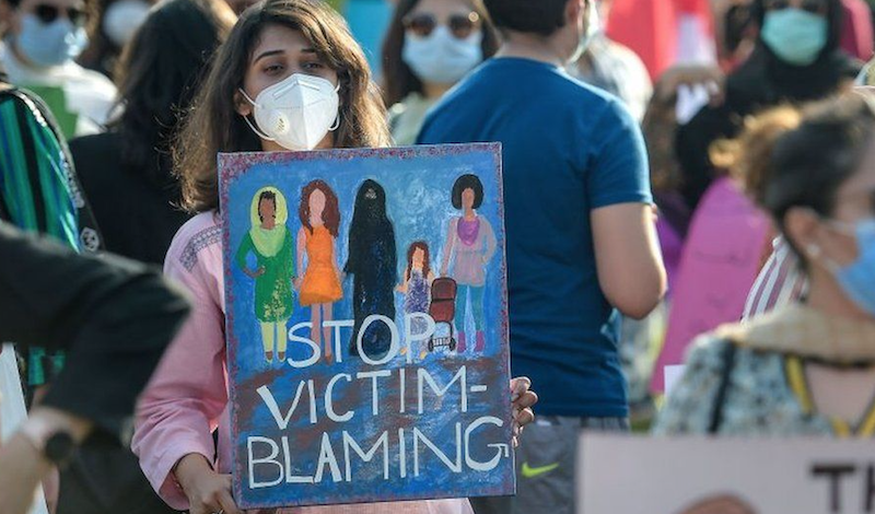 Protest Against Gang Rape in Pakistan