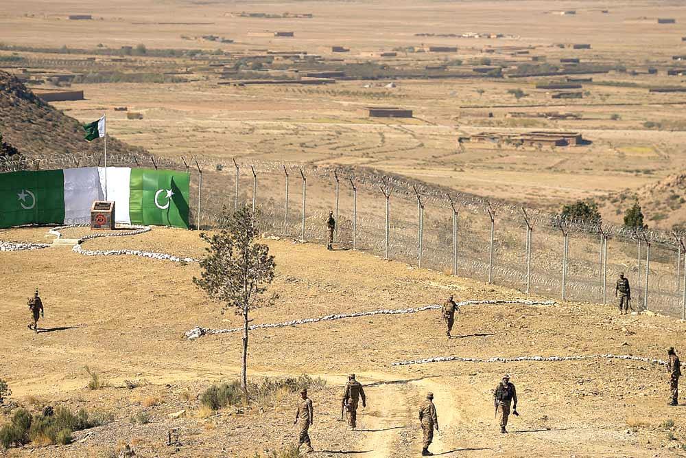Pakistan-Afghan Border Barrier