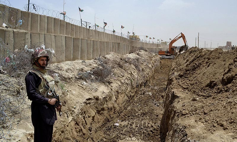 Trench Along the Durand Line